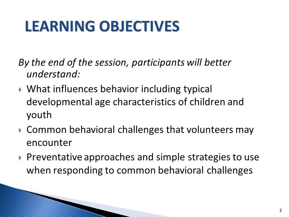 33 3 What behavior challenges concern you?
