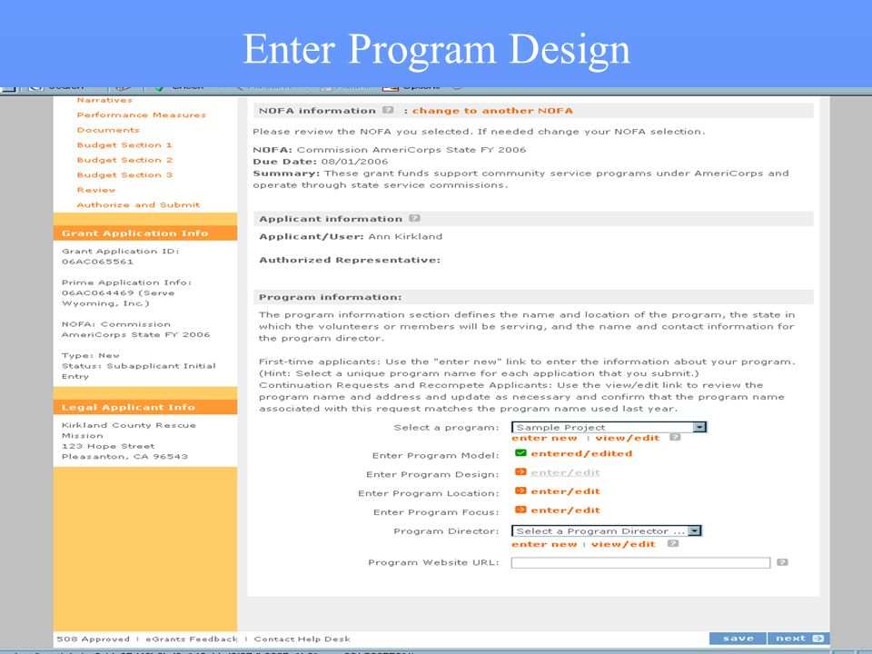 15 Enter Program Design