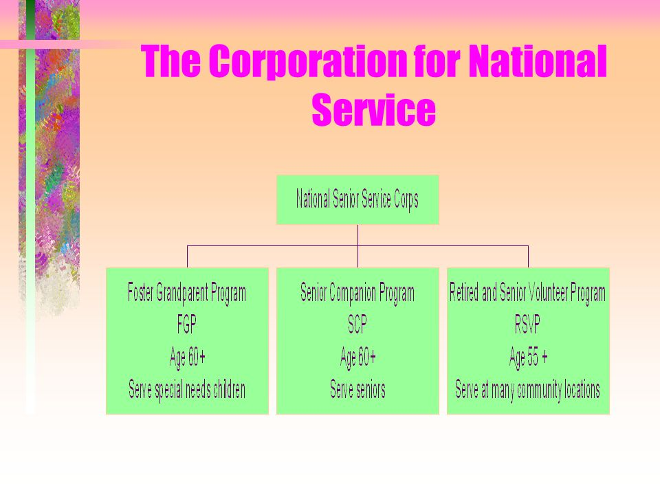 The Corporation for National Service
