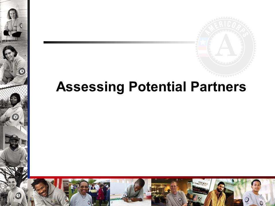 Assessing Potential Partners