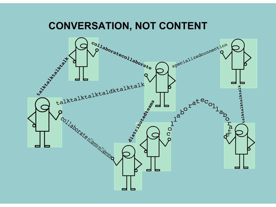 Conversation, not Content