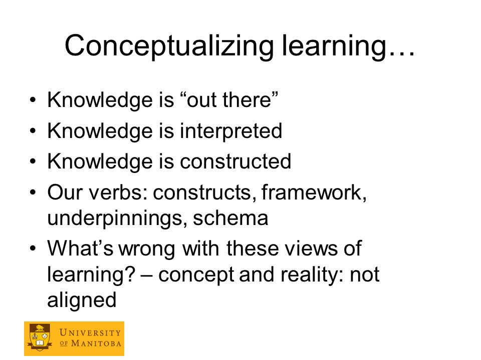 How is learning different.