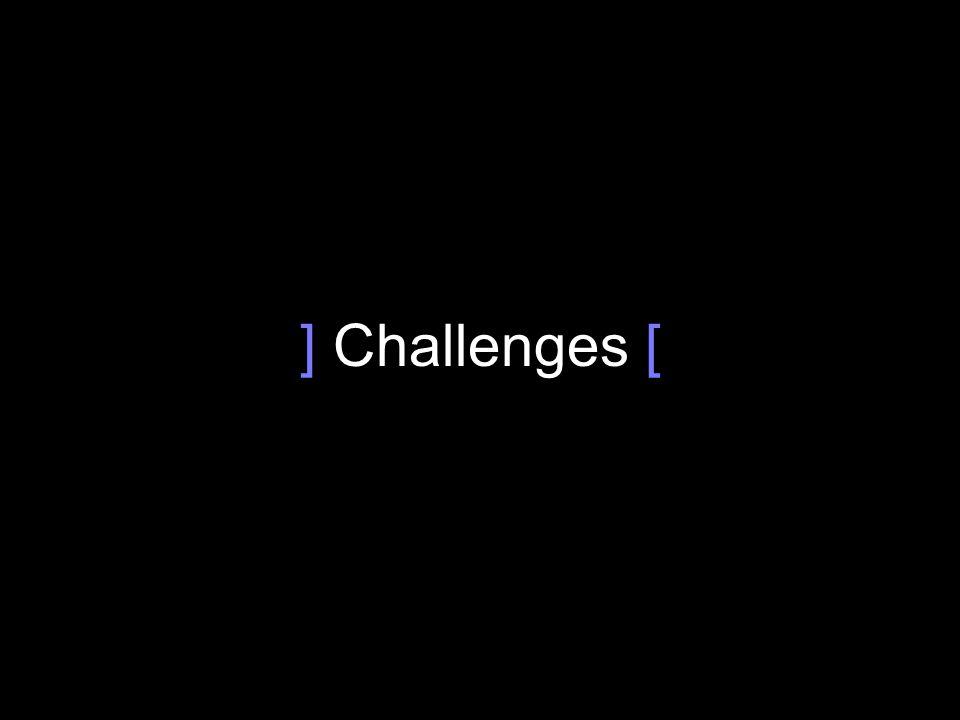 ] Challenges [