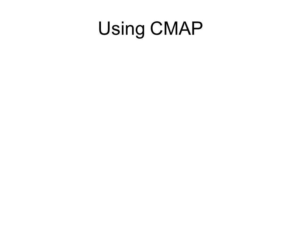 Using CMAP