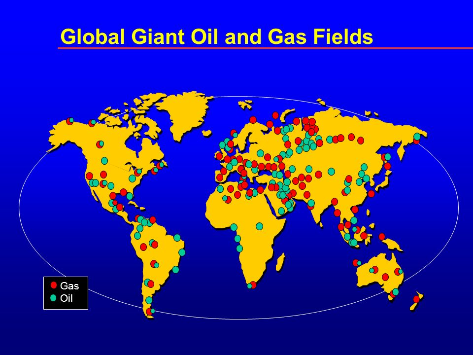 GasOil Global Giant Oil and Gas Fields