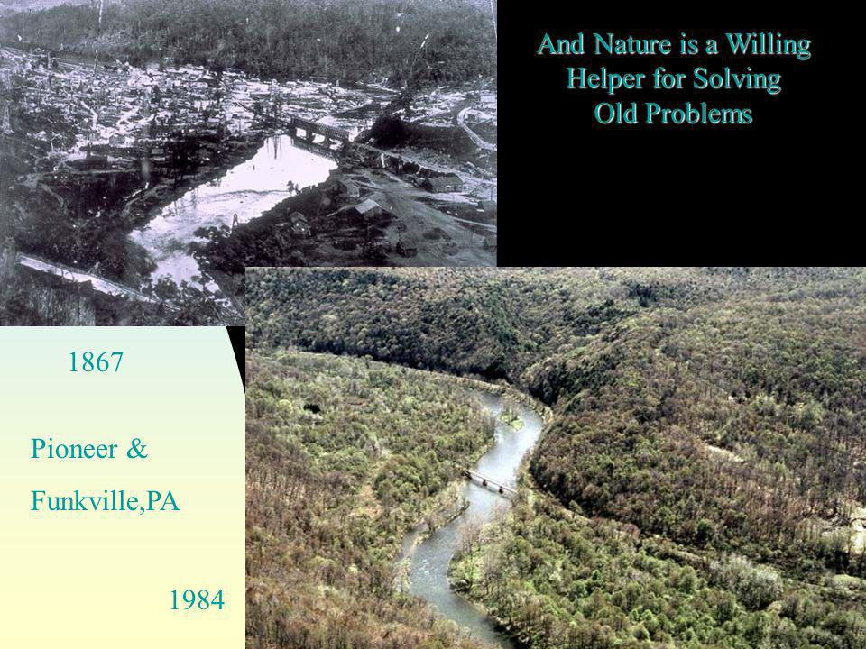 And Nature is a Willing Helper for Solving Old Problems Pioneer & Funkville,PA 1867 1984