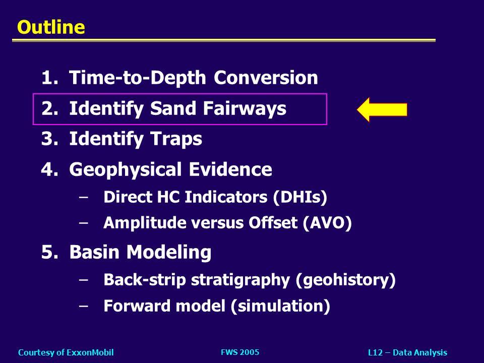 FWS 2005 L12 – Data AnalysisCourtesy of ExxonMobil What Are DHIs.