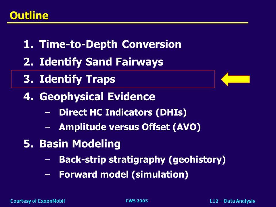 FWS 2005 L12 – Data AnalysisCourtesy of ExxonMobil 3.