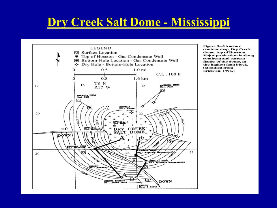 Dry Creek Salt Dome - Mississippi