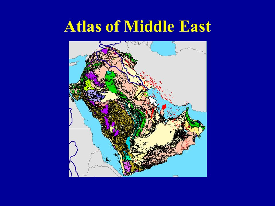 Atlas of Middle East