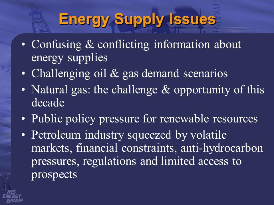 Challenging Oil Demand Scenarios Challenging Oil Demand Scenarios World Oil Demand Consumption in MMbopd 1993 - 99 2000-20 1993 1999 % 2000 2005 2020 % World 67.6 75.0 +11 % 75.6 84.6 118.9 56% U.S.A.
