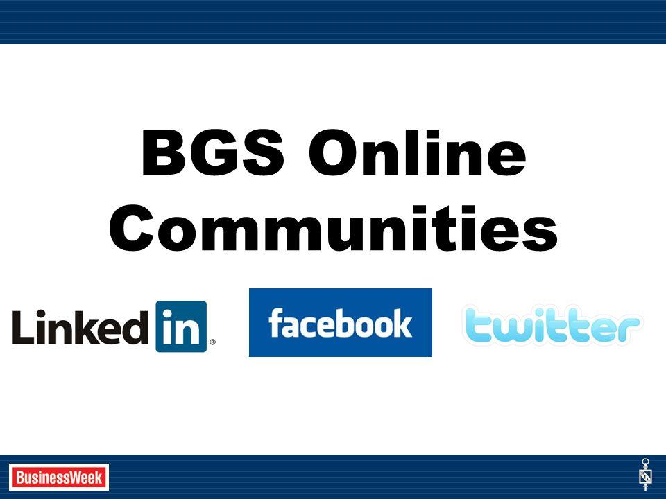BGS Online Communities