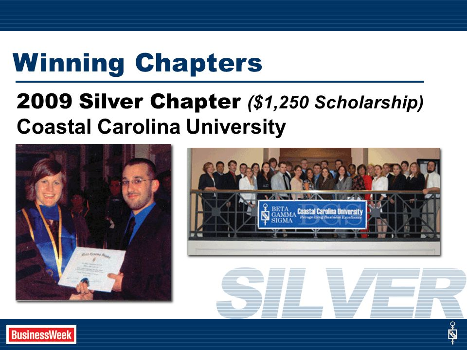 Coastal Carolina University Winning Chapters 2009 Silver Chapter ($1,250 Scholarship)