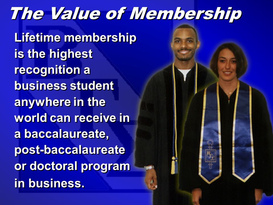 The mission of Beta Gamma Sigma is to encourage and honor academic achievement in the study of business and to foster personal and professional excellence among its members.