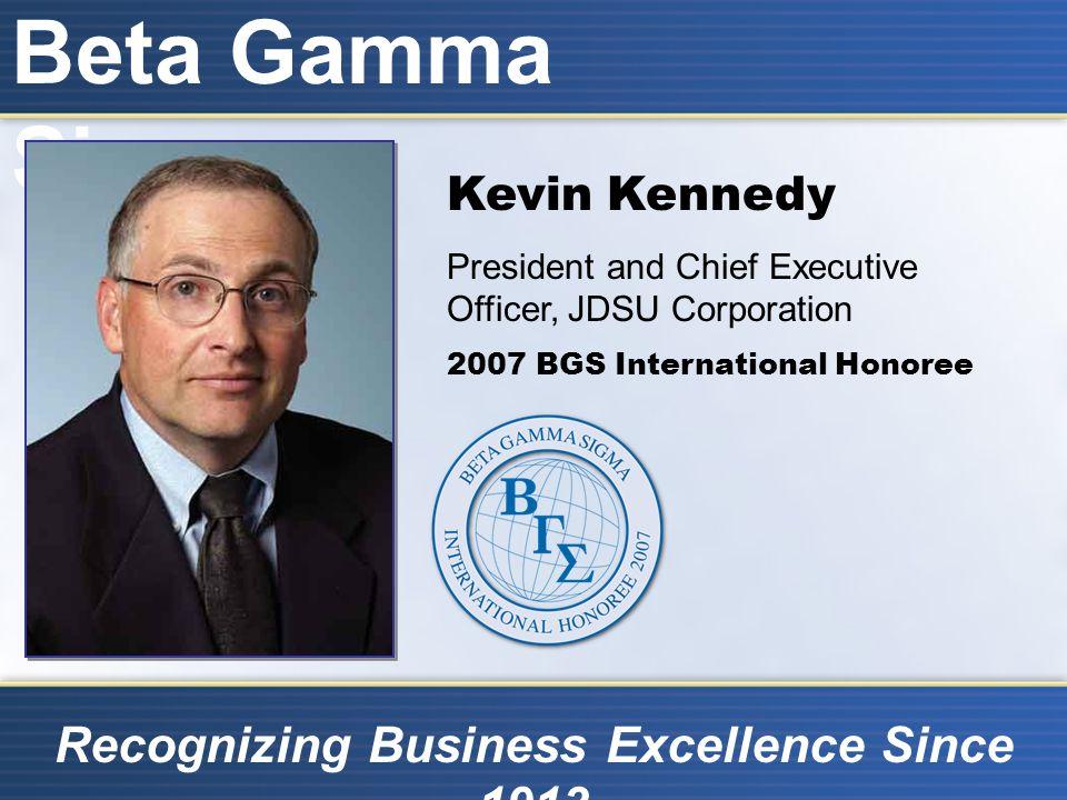 Beta Gamma Sigma Recognizing Business Excellence Since 1913 Beta Gamma Sigma International Exchange