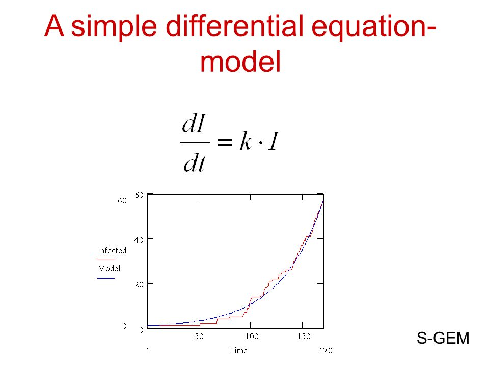 A simple differential equation- model S-GEM