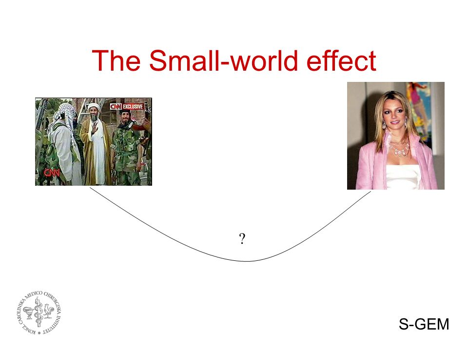 ? The Small-world effect S-GEM