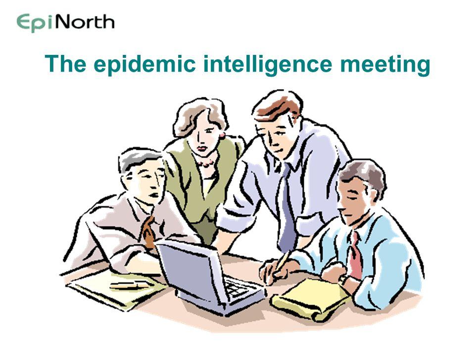 The epidemic intelligence meeting