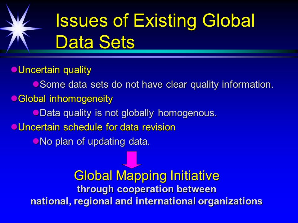 UN sent the letter of ISCGM inviting Global Mapping Project and the letter of UN recommending the project to the head of National Mapping Organizations in November 1998.