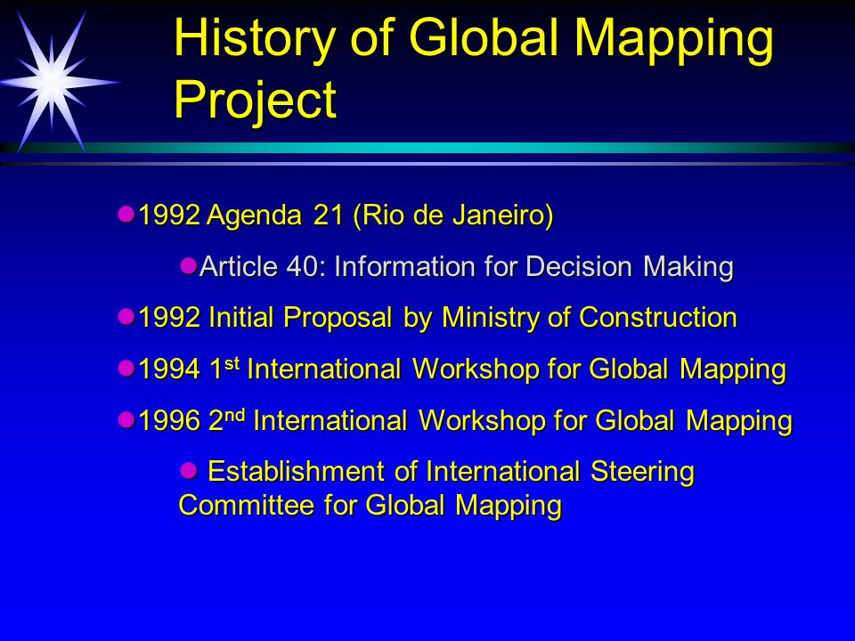 First phase - 2000 First phase - 2000 First phase - 2000 First phase - 2000 Release Global Map ver.