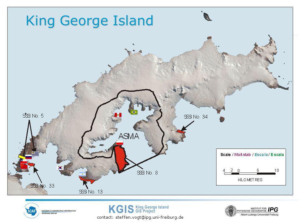 contact: steffen.vogt@ipg.uni-freiburg.de King George Island