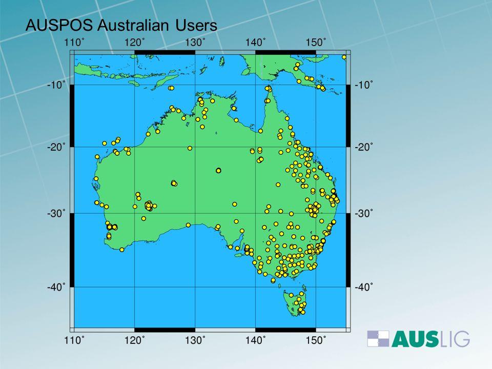 AUSPOS Australian Users