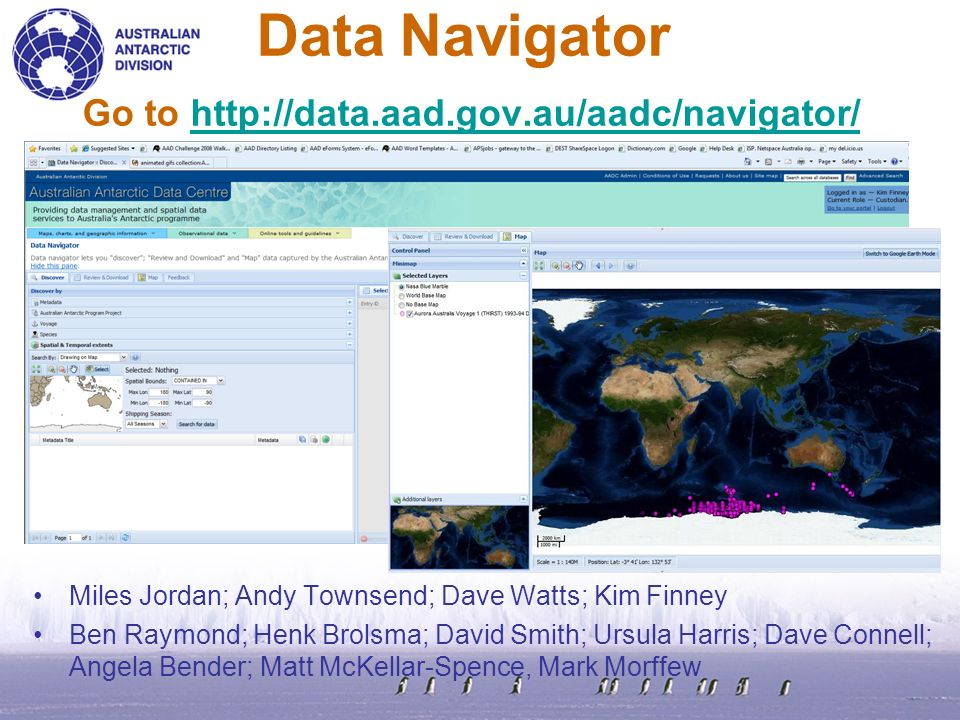 What Is Data Navigator .A generic tool to discover, review/download and map data.
