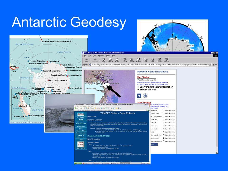 Antarctic Geodesy