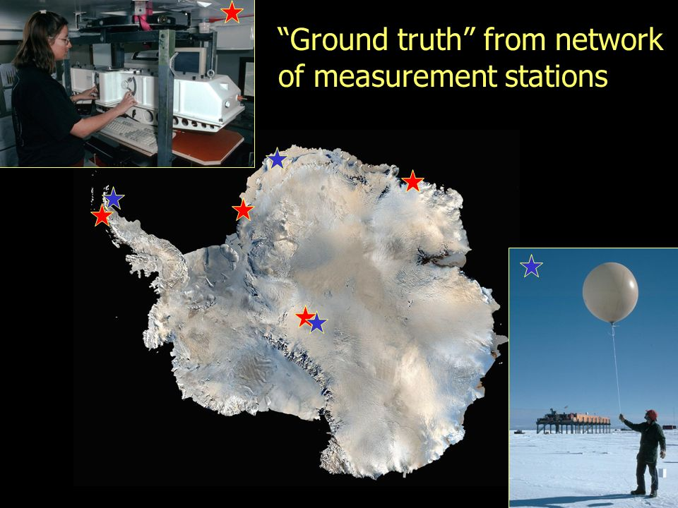 Ground truth from network of measurement stations