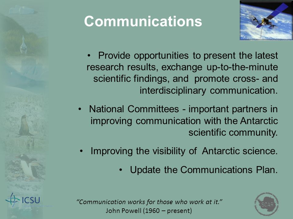 Provide opportunities to present the latest research results, exchange up-to-the-minute scientific findings, and promote cross- and interdisciplinary communication.