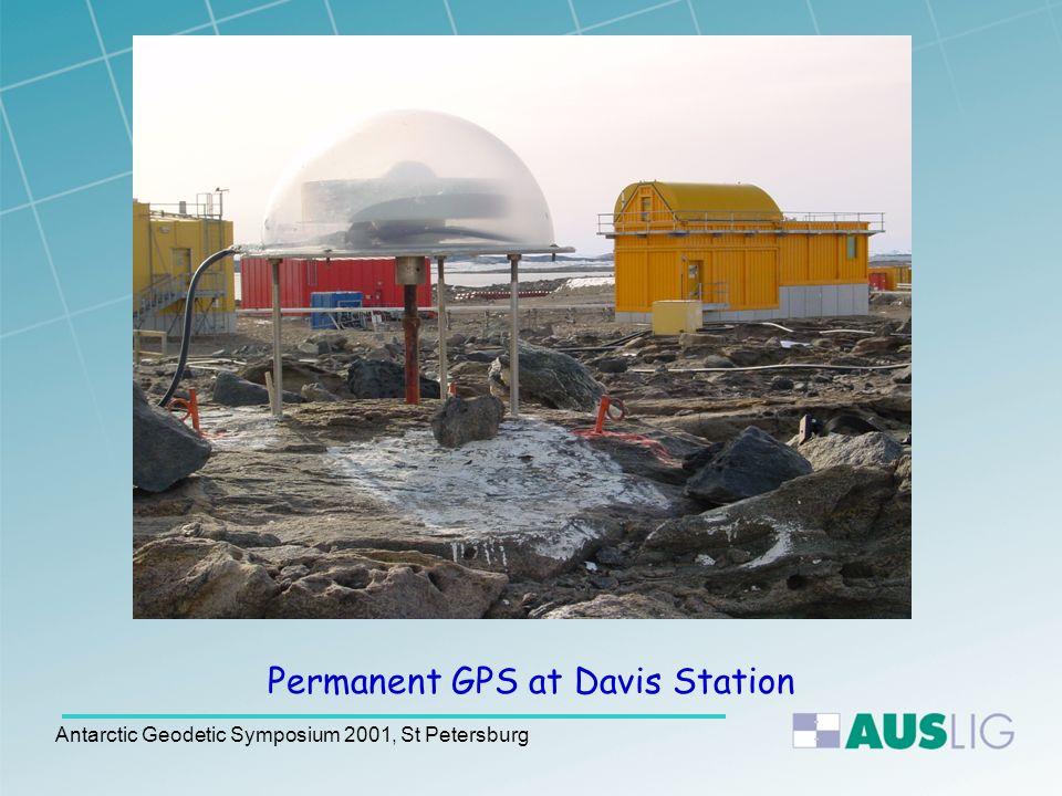 Antarctic Geodetic Symposium 2001, St Petersburg