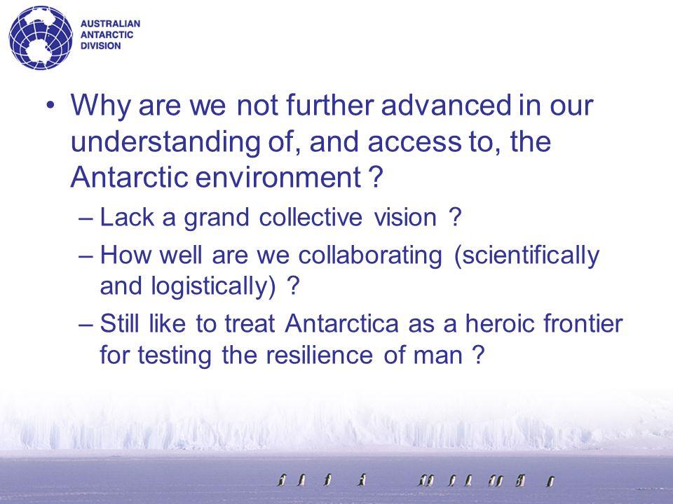 Antarctic Master Directory (NASA) Human Readable Metadata registering metadata National Data Centres A human user can search a metadata catalogue.