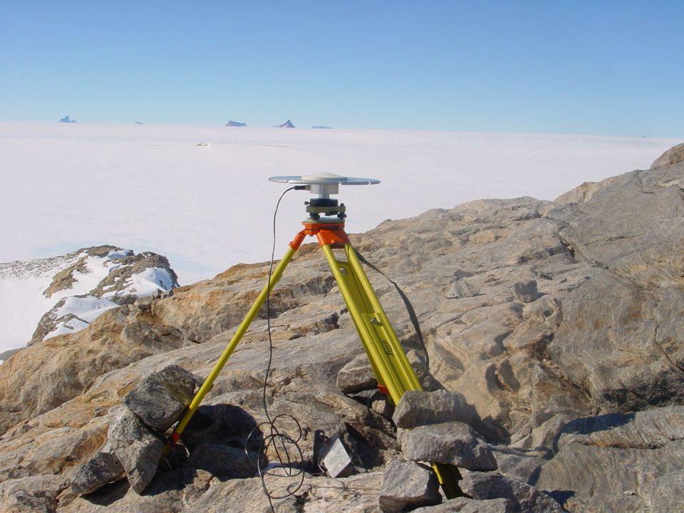 Antarctic Geodetic Symposium 2001, St Petersburg Austin Nunatak- western outlier