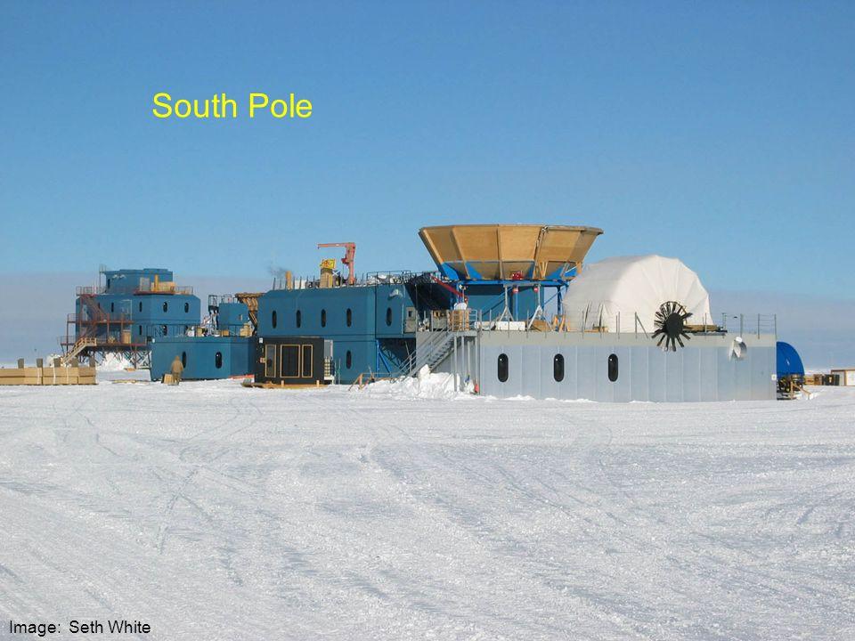 South Pole Image: Seth White