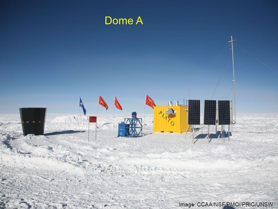 Image: CCAA/NSF/PMO//PRIC/UNSW Dome A