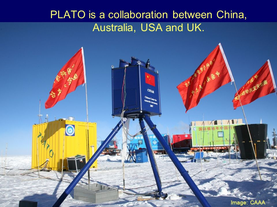 PLATO is a collaboration between China, Australia, USA and UK. Image: CAAA