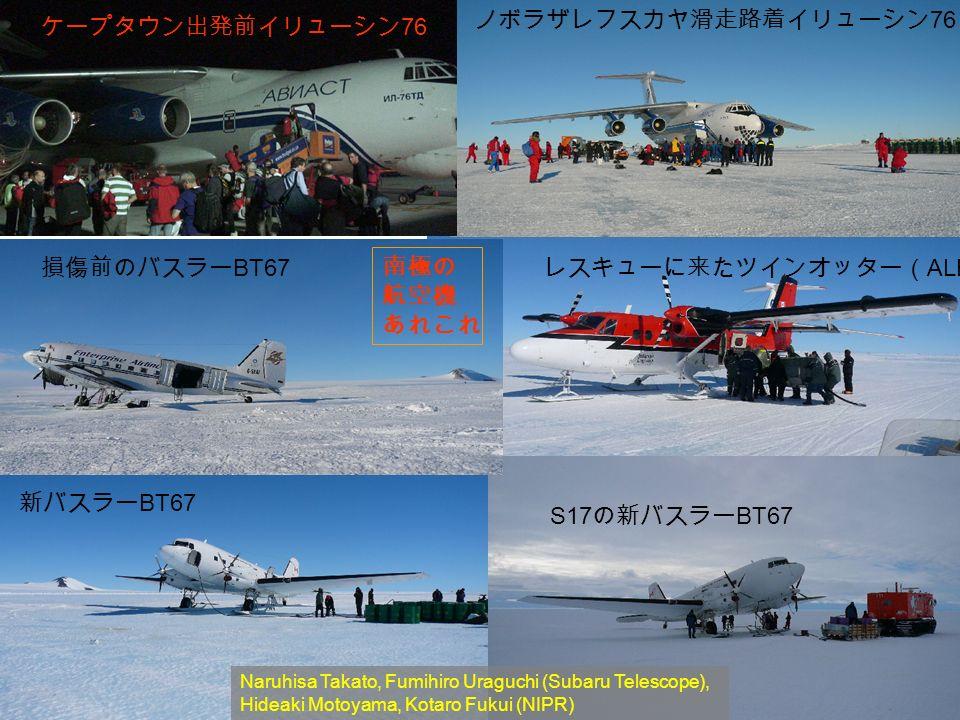 76 BT67 ALE) BT67 S17 BT67 Naruhisa Takato, Fumihiro Uraguchi (Subaru Telescope), Hideaki Motoyama, Kotaro Fukui (NIPR)