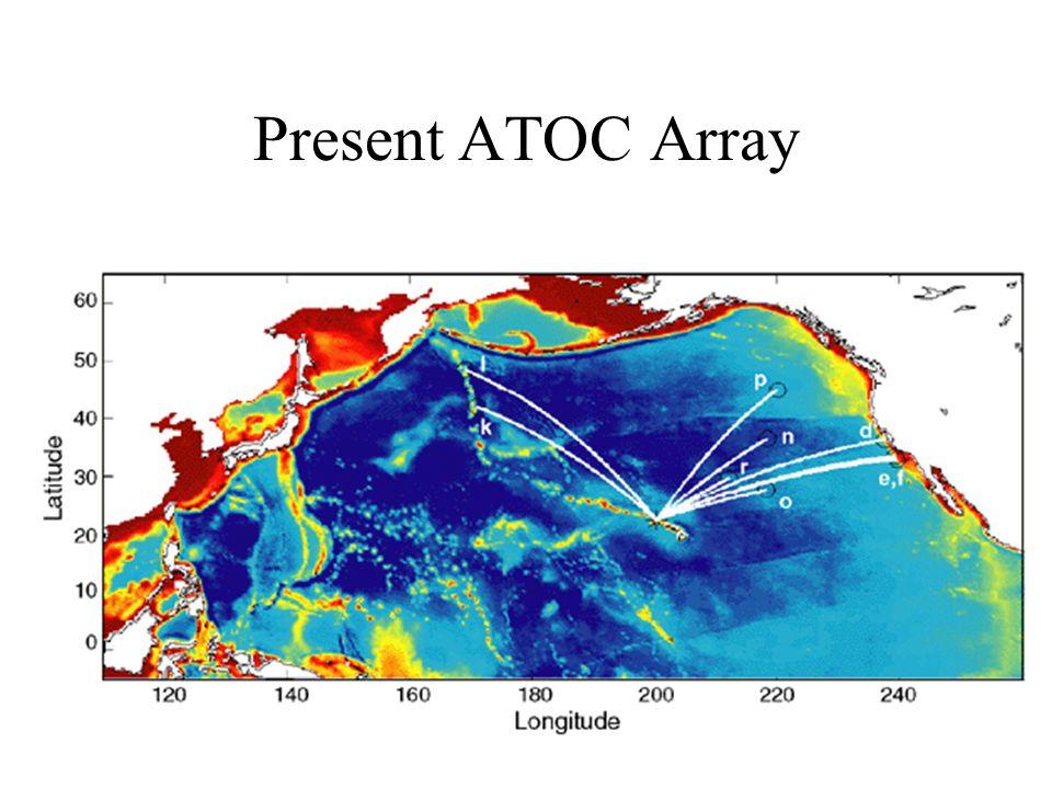 Present ATOC Array