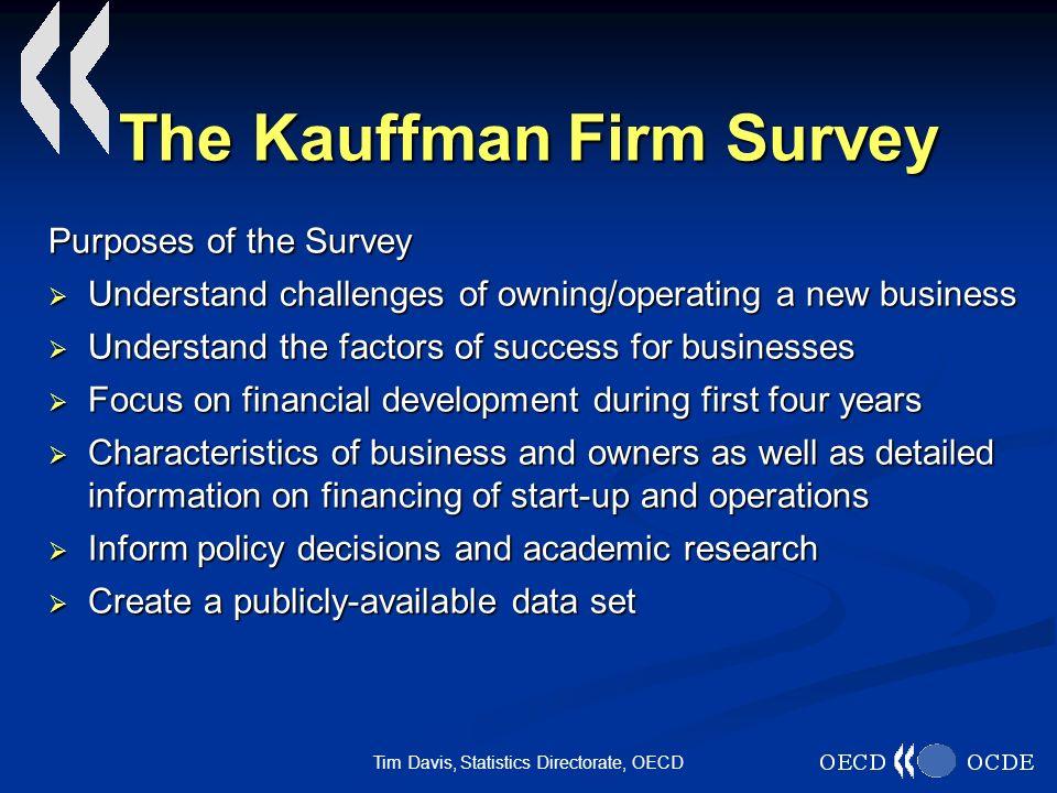 Tim Davis, Statistics Directorate, OECD KFS Financials Did owners money buy shares.