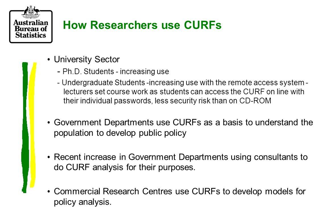 University Sector - Ph.D.