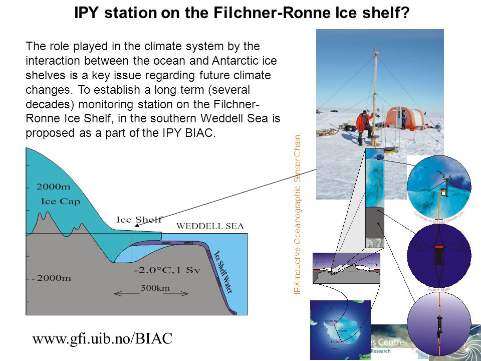 IPY station on the Filchner-Ronne Ice shelf.