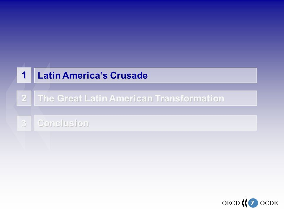 7 1 Latin Americas Crusade The Great Latin American Transformation 2 1 3 Conclusion