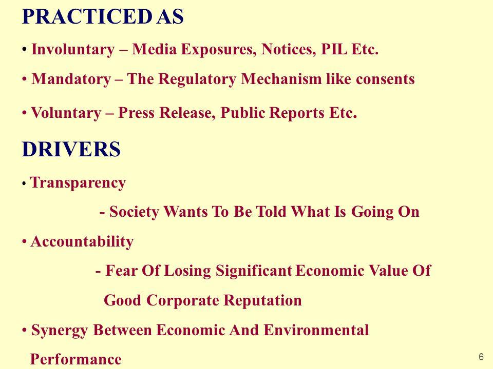 6 PRACTICED AS Involuntary – Media Exposures, Notices, PIL Etc.
