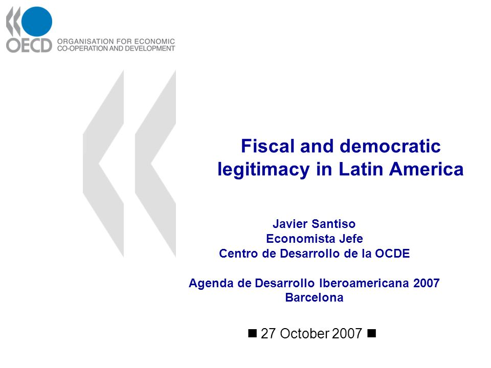 22 1 Development and democracy 3 The fiscal transition 2 Fiscal policy: Quality and accountability