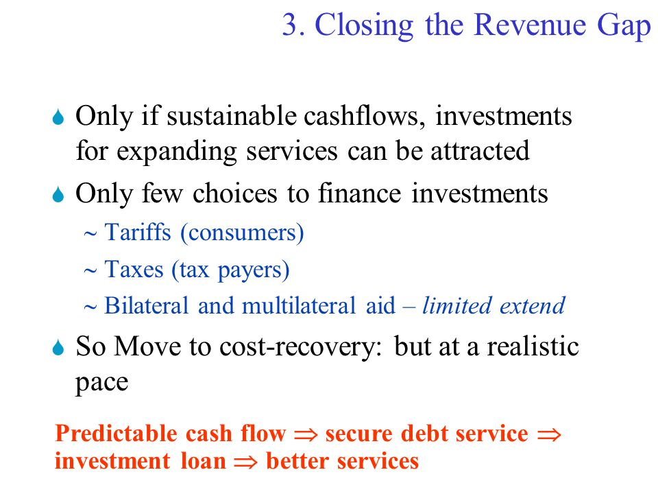 2.Change to longer term financing
