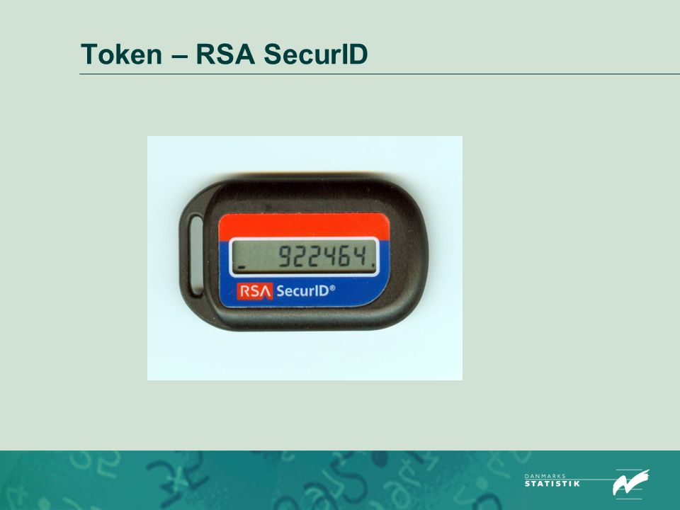 Token – RSA SecurID