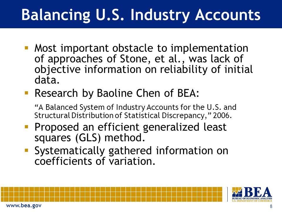 www.bea.gov 8 Balancing U.S.