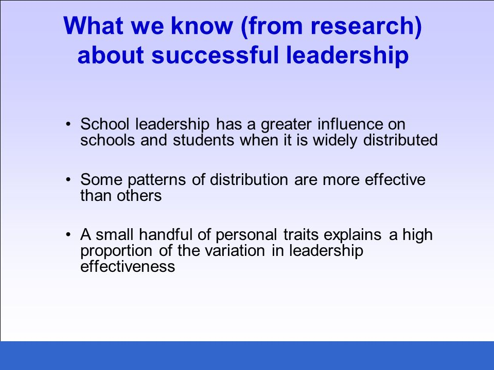 Managing knowledge creation, dissemination and use: what we know about successful principals in action