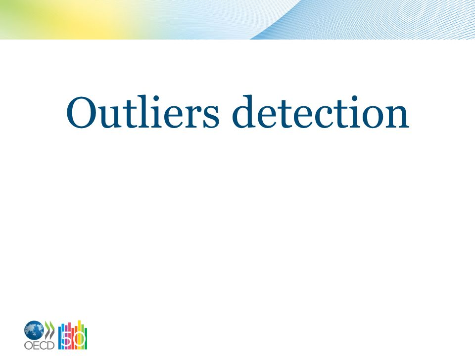 Outliers detection
