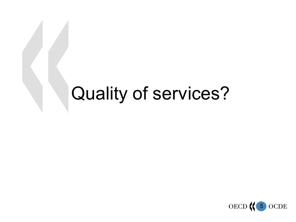 5 Quality of services